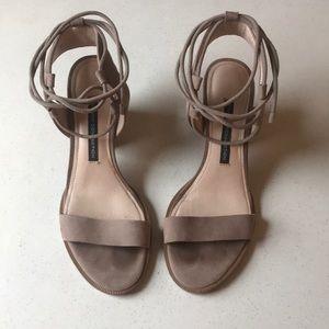 Jalena suede sandals